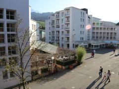 Der Hofmattplatz in Kriens